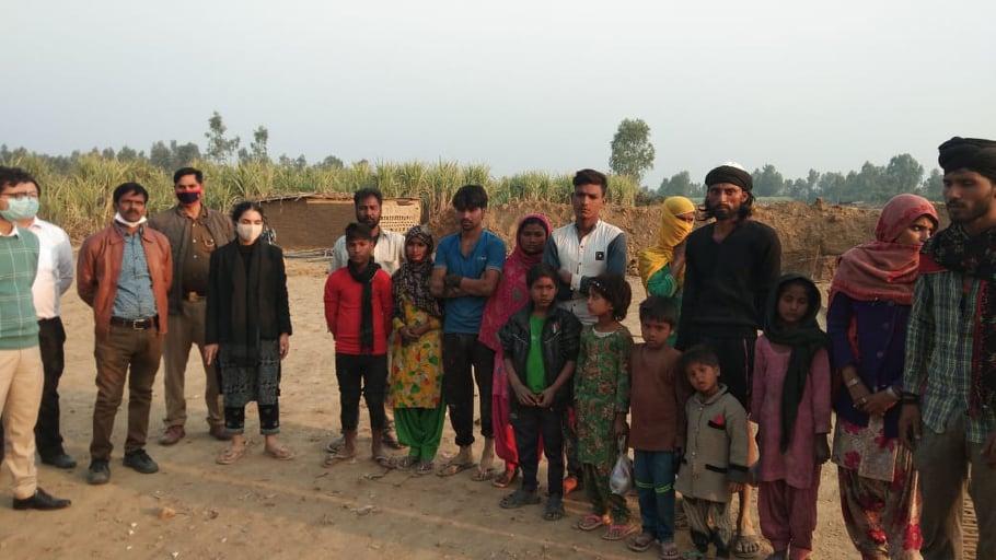 मुक्त हुए मानव तस्करी के शिकार 16 बंधुआ मजदूर, अल्पसंख्यक समुदाय के मजदूर हो रहे टारगेट