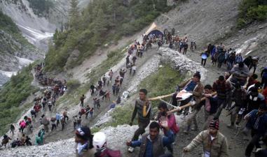 जम्मू-कश्मीर: हिंसा के कारण विस्थापित होने वालों की तादाद सबसे ज्यादा तादाद